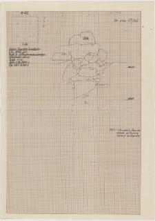 KZG, VI 402 C, profil archeologiczny W wykopu