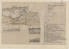 KZG, VI 402 CD, profil archeologiczny wykopu
