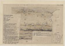 KZG, VI 402 CD, profil archeologiczny wschodni wykopu