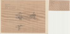 KZG, VI 601 D, 602 C, plan archeologiczny wykopu, konstrukcje drewniane