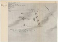 KZG, I 95 D, 96 C, IV 95 A, 96 B, plan archeologiczny wykopu