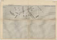 KZG, I 98 C D, 99 C, IV 98 A B, 99 A, plan archeologiczny wykopu