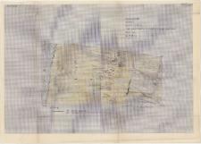 KZG, I 700 B D, 800 D, plan archeologiczny wykopu