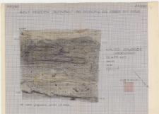 KZG, I 700 D, plan archeologiczny