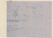 KZG, I 498 A B C D, 499 C D, plan archeologiczny wykopu