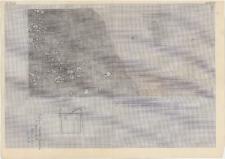 KZG, I 600 B D, plan archeologiczny wykopu
