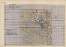 KZG, I 496 B, 596 C D, 597 C, plan archeologiczny wykopu