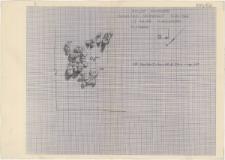 KZG, I 99 D, plan archeologiczny wykopu
