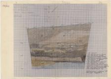 KZG, I 99 A, profil archeologiczny NW wykopu