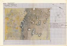 KZG, I 498 D, 499 C, 398 B, 399 A, plan archeologiczny wykopu