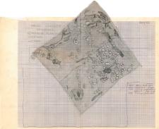 KZG, I 498 B 499 A C, plan archeologiczny wykopu