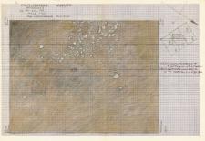 KZG, I 498 B, 499 C, plan archeologiczny wykopu