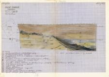 KZG, I 498 D, 499 C, profil archeologiczny W wykopu