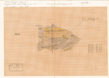 KZG, VI 401 D, profil archeologiczny S wykopu