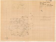 KZG, VI 402 A, plan archeologiczny filaru N kolegiaty