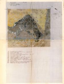 KZG, I 498 B, 499 AC, plan archeologiczny wykopu