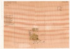 KZG, VI 301 D, plan archeologiczny wykopu