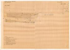 KZG, VI 301 D, profil archeologiczny wykopu