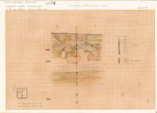KZG, VI 301 D, profil archeologiczny W wykopu (szkic, kopia)