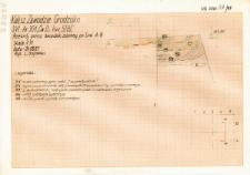 KZG, VI 301 D, profil archeologiczny E wykopu