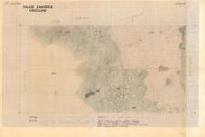KZG, VI 301 B D, plan archeologiczny wykopu