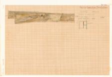 KZG, VI 301 D, profil archeologiczny W wykopu