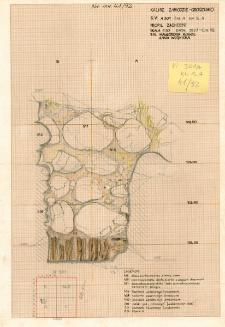 KZG, VI 301 A, profil archeologiczny W wykopu