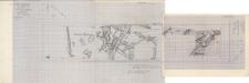 KZG, V 16 D, 21 C D, plan archeologiczny wykopu