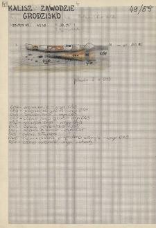 KZG, V 20 D, profil paleniska 2/58