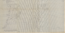 KZG, V 20 B D, plan archeologiczny wykopu