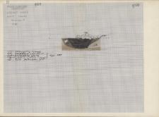 KZG, V 20 C, profil archeologiczny paleniska