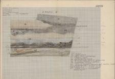 KZG, V 20 C, profil archeologiczny N wykopu