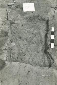Grave 4-88, burial cut, fragment