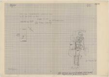 KZG, VI 201 C, plan archeologiczny wykopu, cmentarz (grób 20/58)