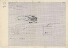 KZG, VI 201 C, plan archeologiczny wykopu, cmentarz (grób 7/59)