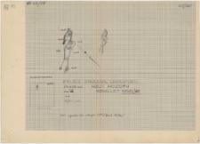 KZG, VI 201 C, plan archeologiczny wykopu, cmentarz (grób 16/60a)