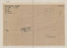 KZG, V 25 D, VI 401 C, plan archeologiczny wykopu, grób 5-89
