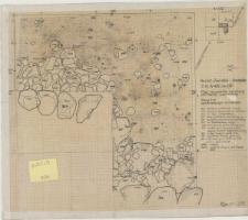 KZG, VI 402 C D, plan archeologiczny wykopu, grób 2/91