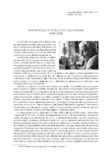 Wspominając Ludwika, czytając Stommę (1950–2020)