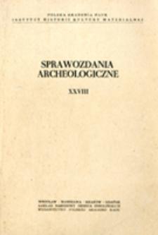 Badania poszukiwawcze nad środkowym Sanem w roku 1973