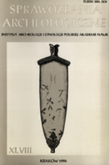 Sprawozdania Archeologiczne T. 48 (1996), Nekrologi