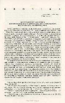 Archeologia Polski T. 34 (1989. - 1990) Z. 2, Kronika