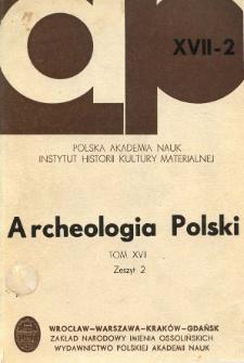 Ceramika z wczesnośredniowiecznego Kaszowa w pow. milickim
