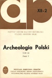 Z zagadnień periodyzacji dziejów garncarstwa na ziemiach polskich