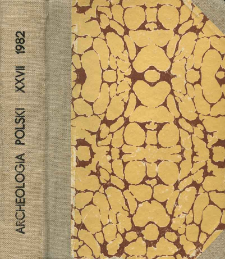 Archeologia Polski T. 27 (1982. - 1983) Z. 2, Kronika