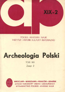 Archeologia Polski. Vol. 19 (1974) No 2, Kronika