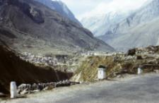 Road to Badrinath, Himalayas (Iconographic document)