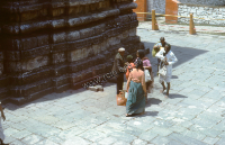 Hindu Temple in Badrinath (Iconographic document)