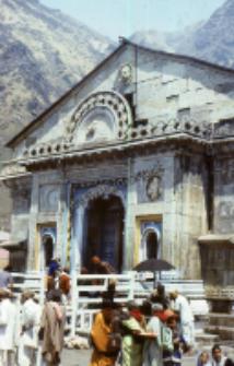 Temple in Kedarnath (Iconographic document)