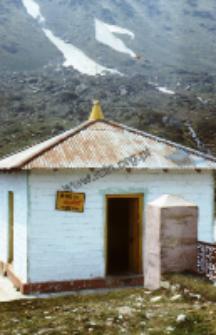 Shankaracharya shrine in Kedarnath (Iconographic document)